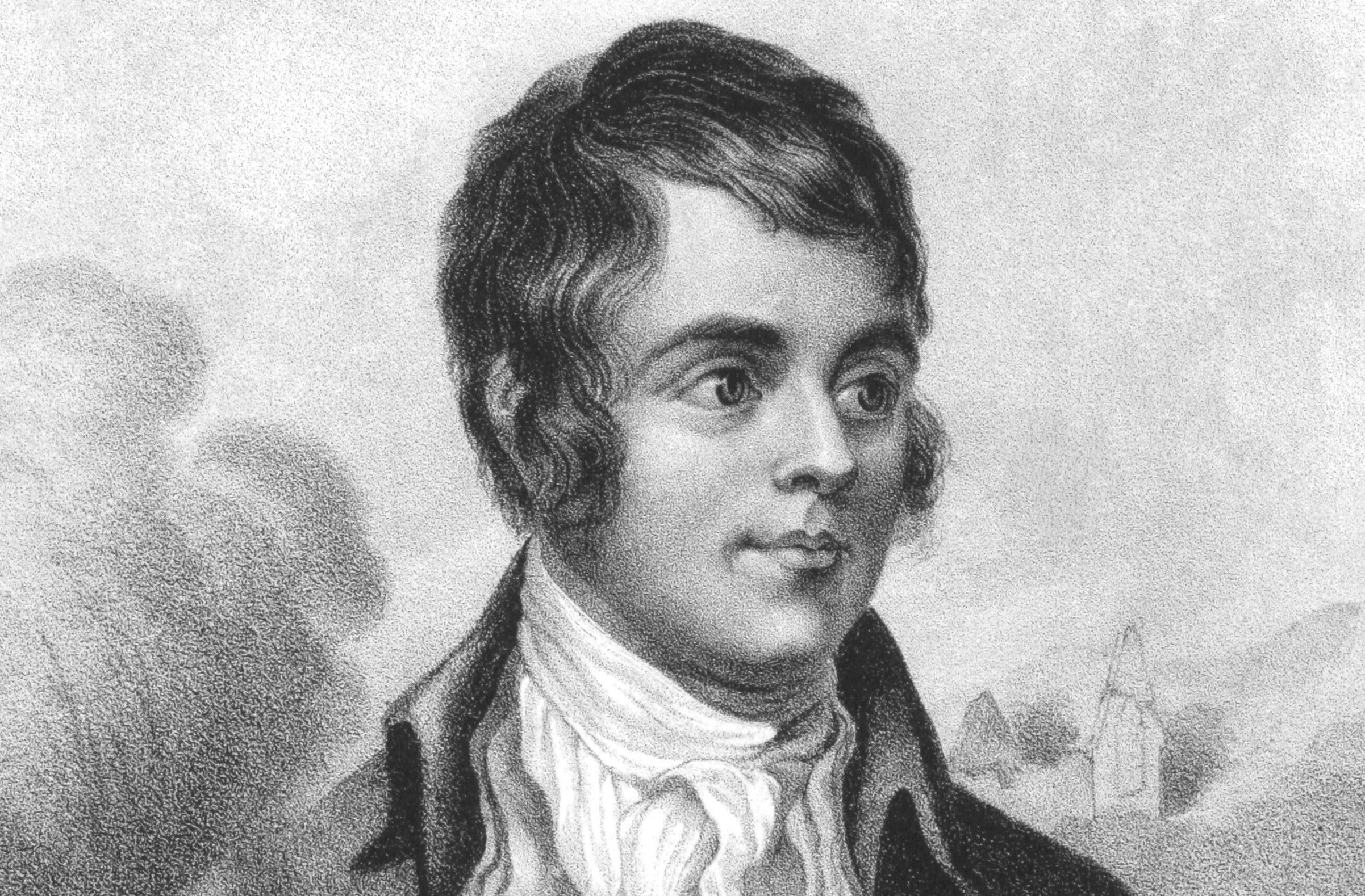 Robert Burns was born on 25 January 260 years ago. (iStock).