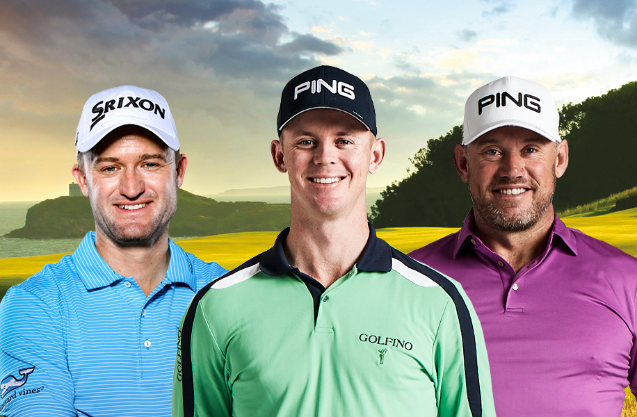 Russell Knox, Brandon Stone and Lee Westwood (Getty Images)