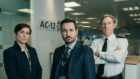 Vicky McClure, Martin Compston and Adrian Dunbar in Line of Duty