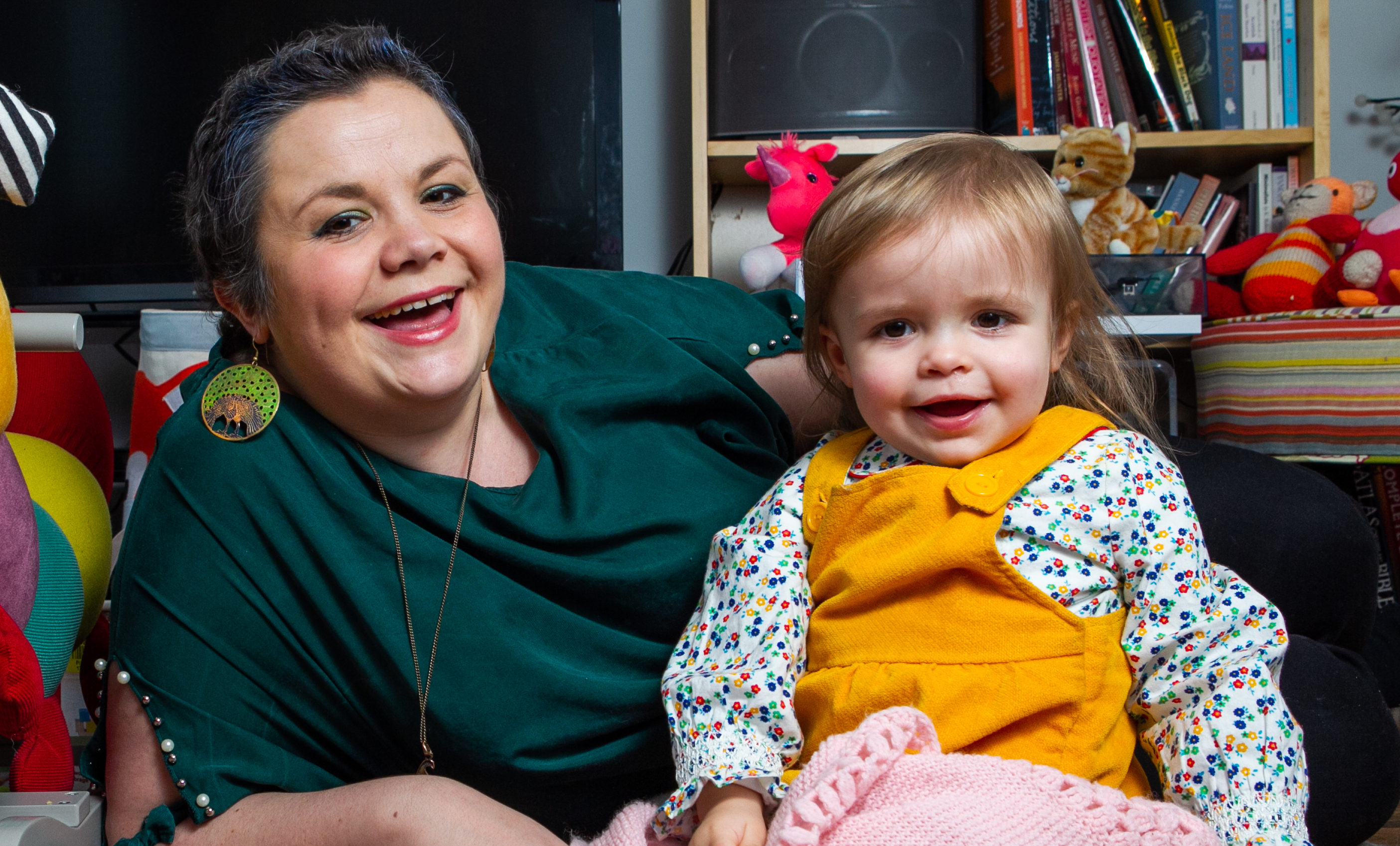 Shona Brown with her daughter Mara (Andrew Cawley / DCT Media)