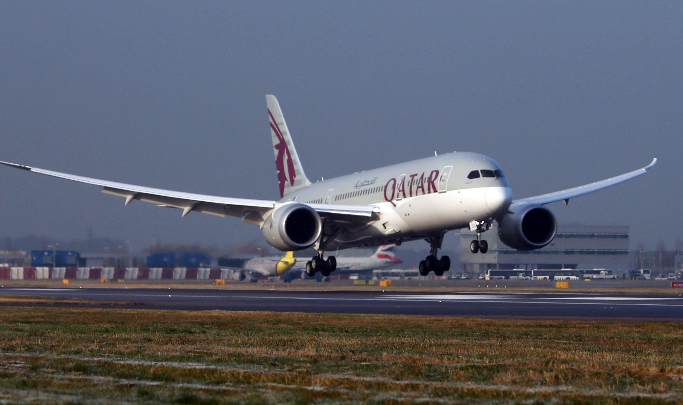 A Qatar Airways plane (PA)