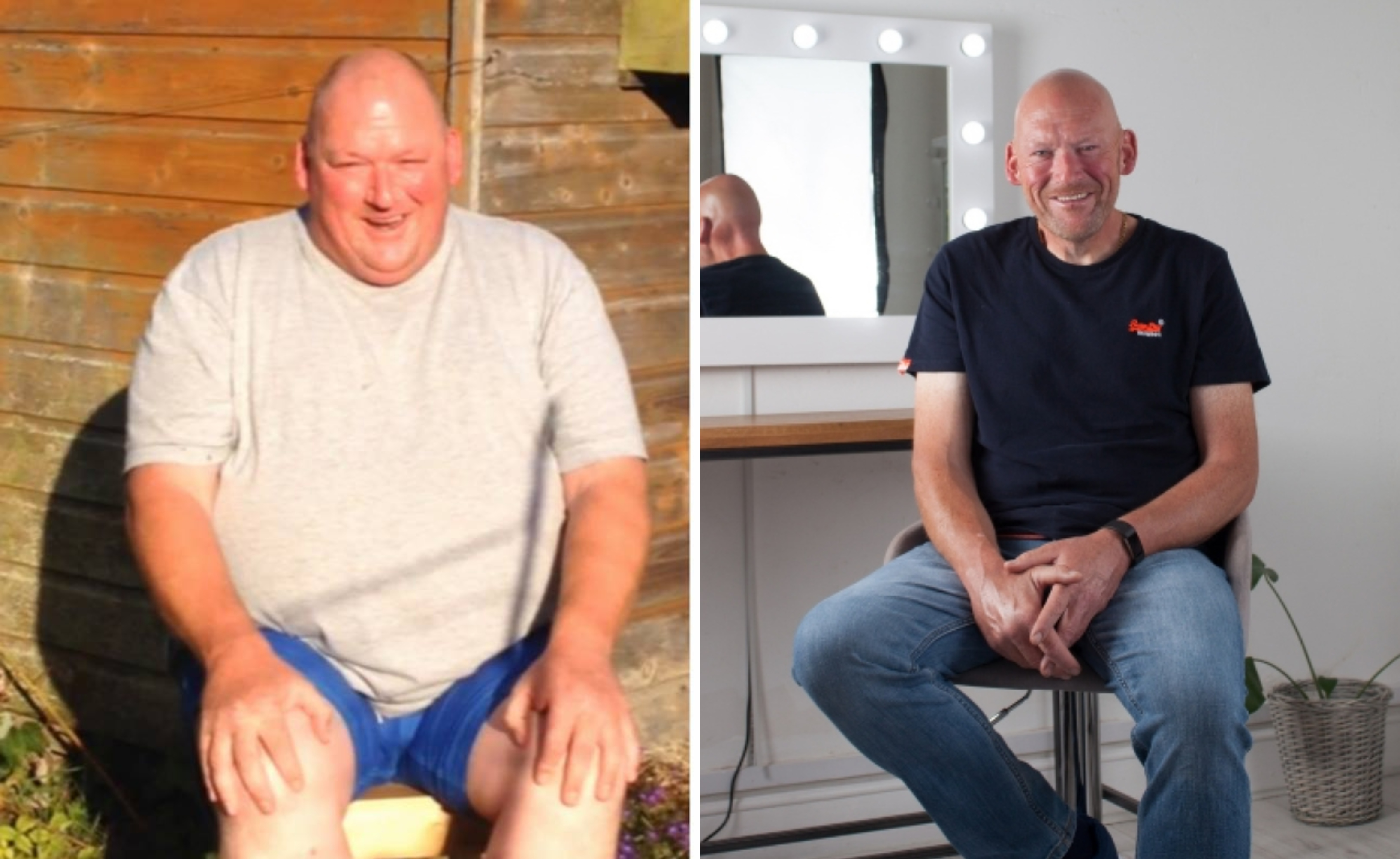 Steven Duncan before and after