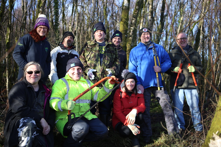 This group of green-fingered Greenock locals are volunteering to ensure the protection of local habitats.