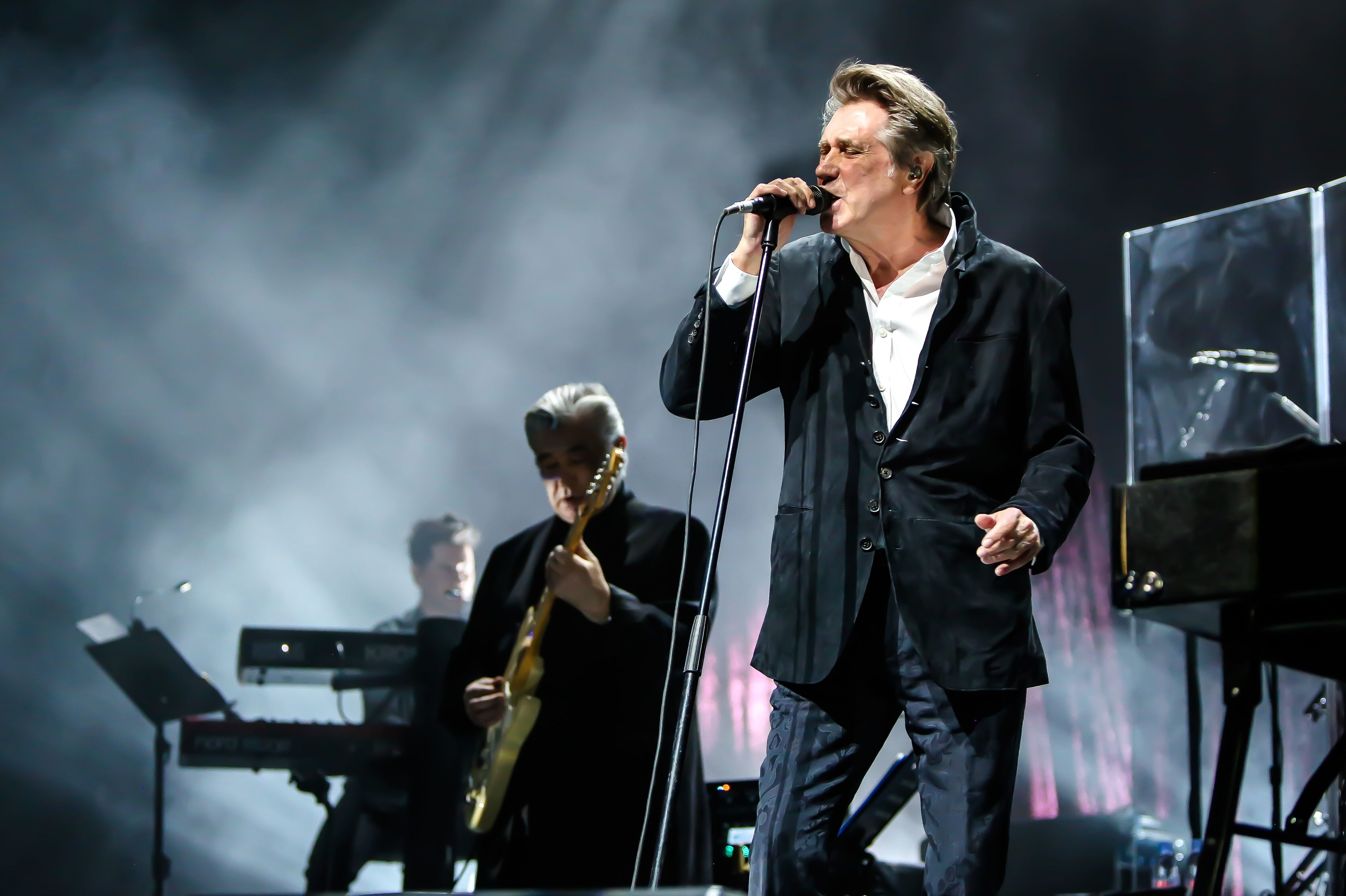 Bryan Ferry on stage (Matthew Becker)