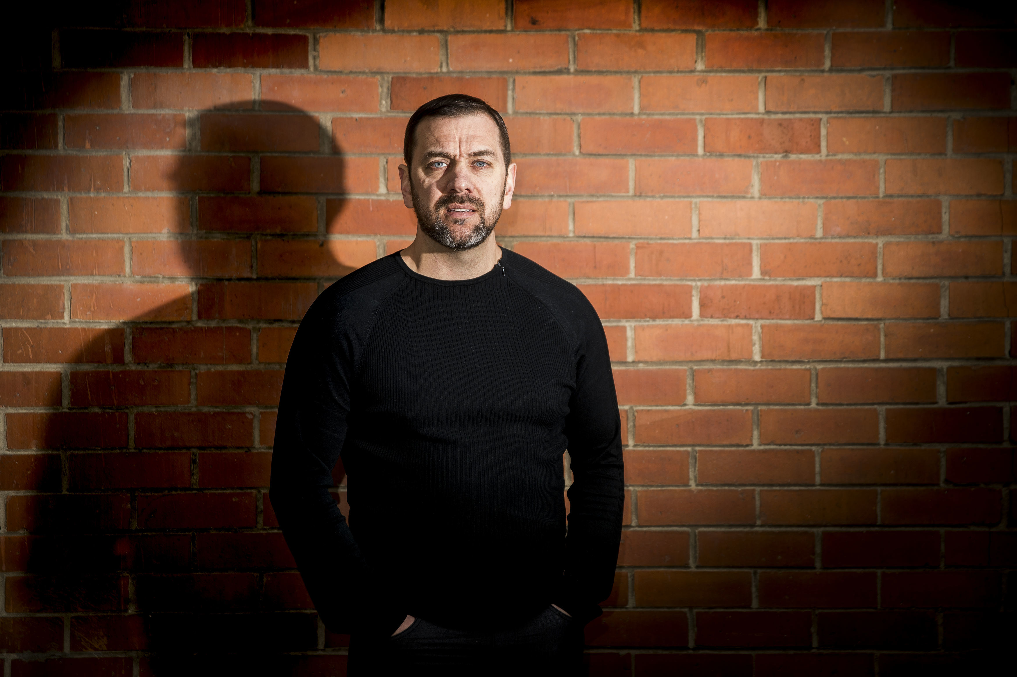 Documentary film maker Sean Murray who has directed a new documentary, Unquiet Graves - the Story of the Glenanne Gang
