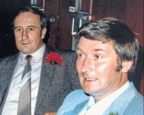 William McKandie (left) and brother Brian.