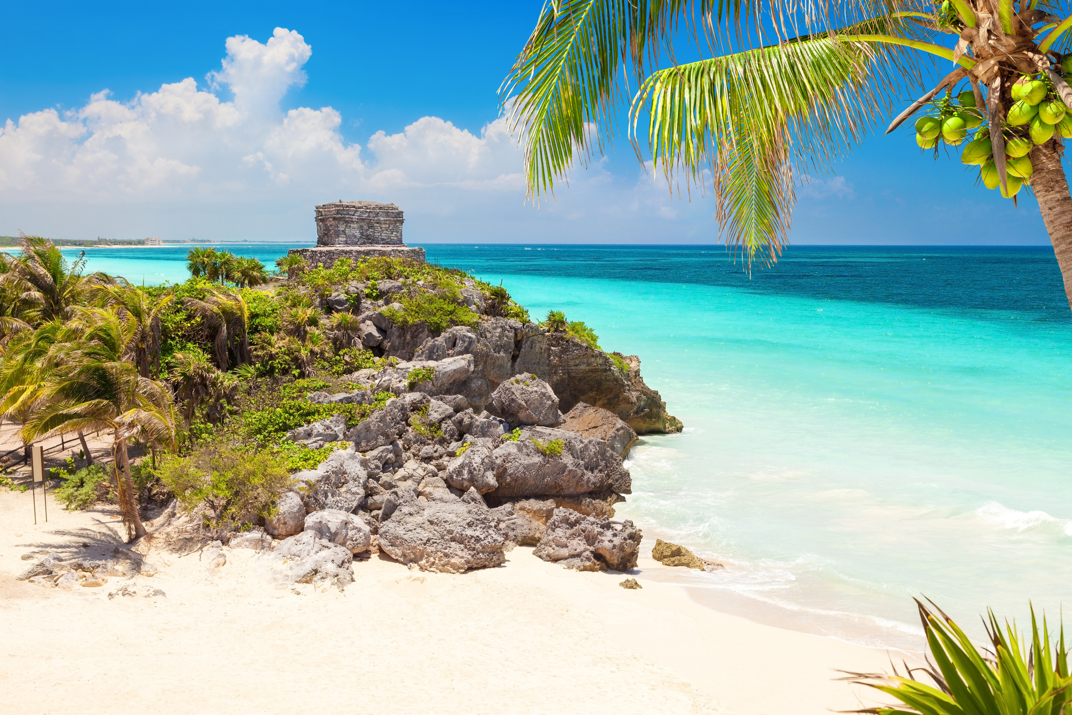 Ancient Mayan ruins in Tulum, Mexico. (iStock)