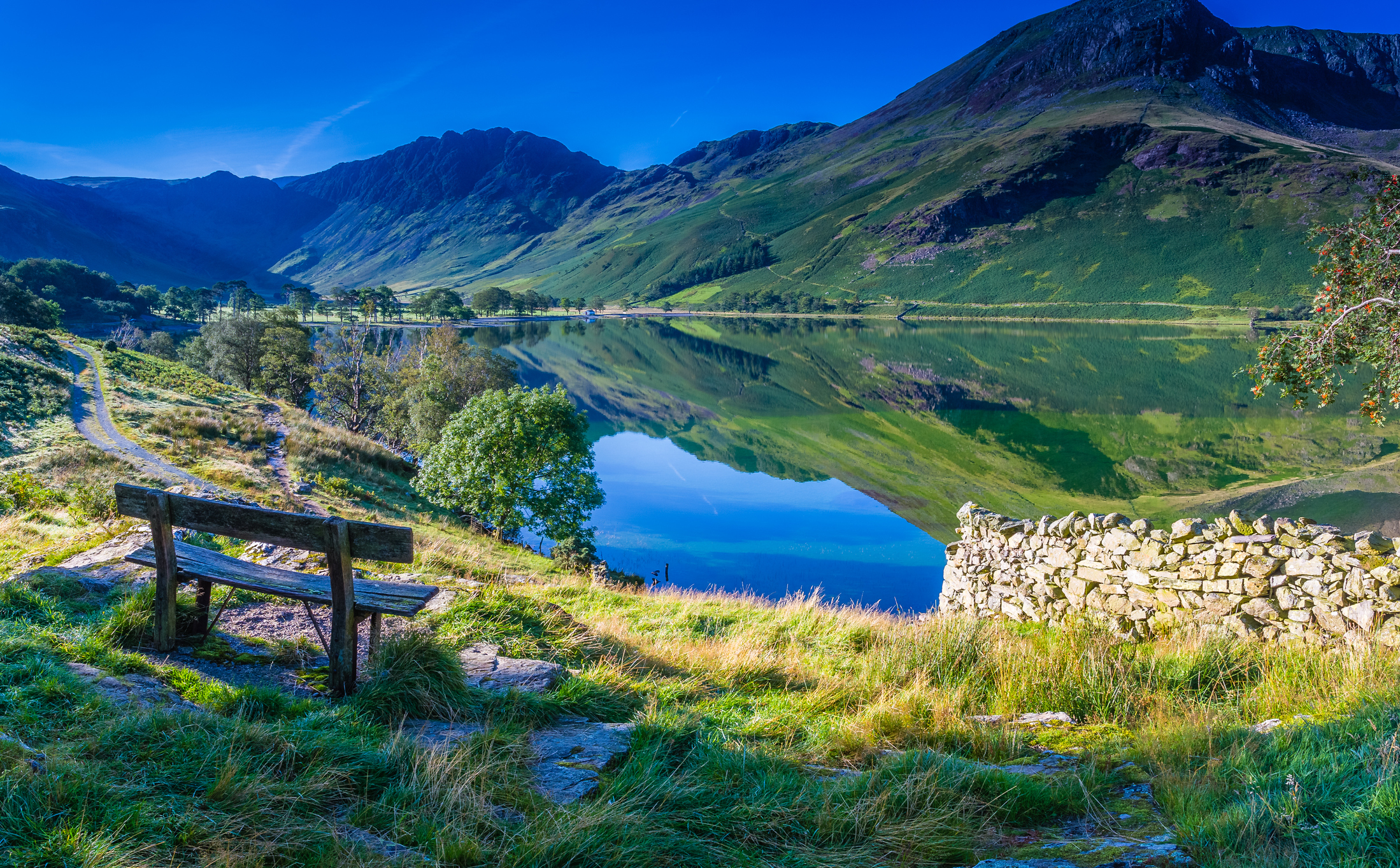 Buttermere in The Lake District.