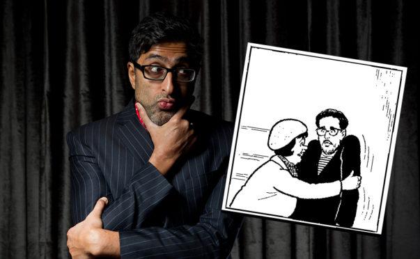 Sanjeev Kohli meets Daphne!