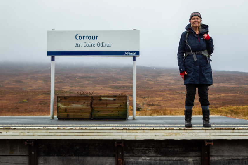 Corrour train station
