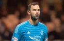 Joe Lewis in action for Aberdeen