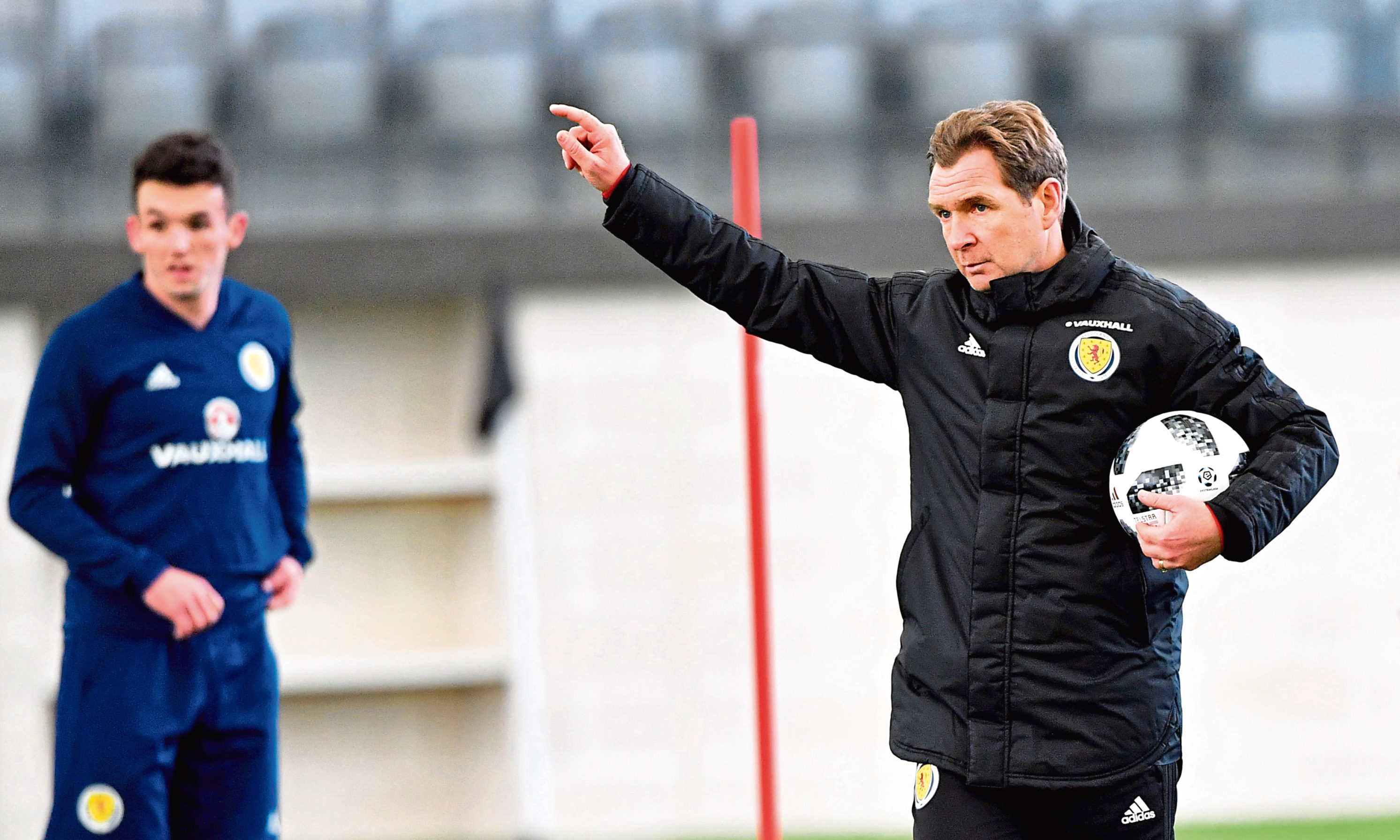 Scotland assistant Peter Grant
