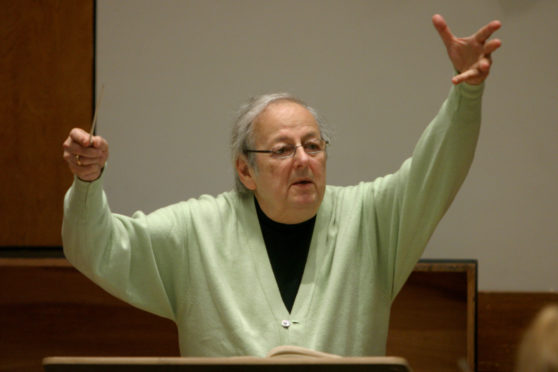 Andre Previn, pictured in 2007, was a composing and conducting legend