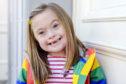 Ciara Burns, age 6 yrs. Ciara was born with Down Syndrome.