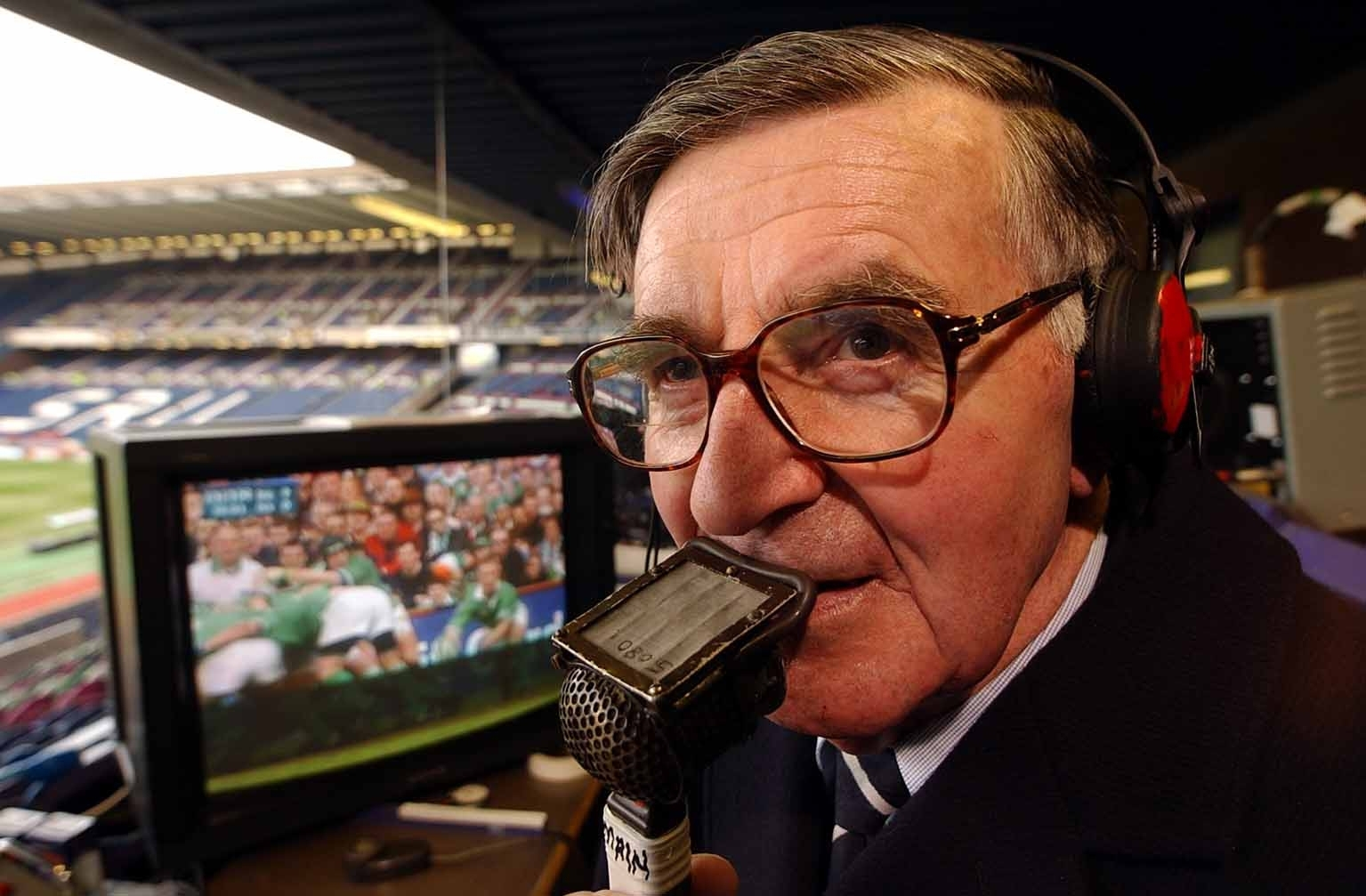 Commentator Bill McLaren had an encyclopaedic knowledge of his subject.