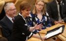 First Minister Nicola Sturgeon