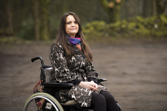 Lorna Farrell says attempts to remove mesh left her in a wheelchair