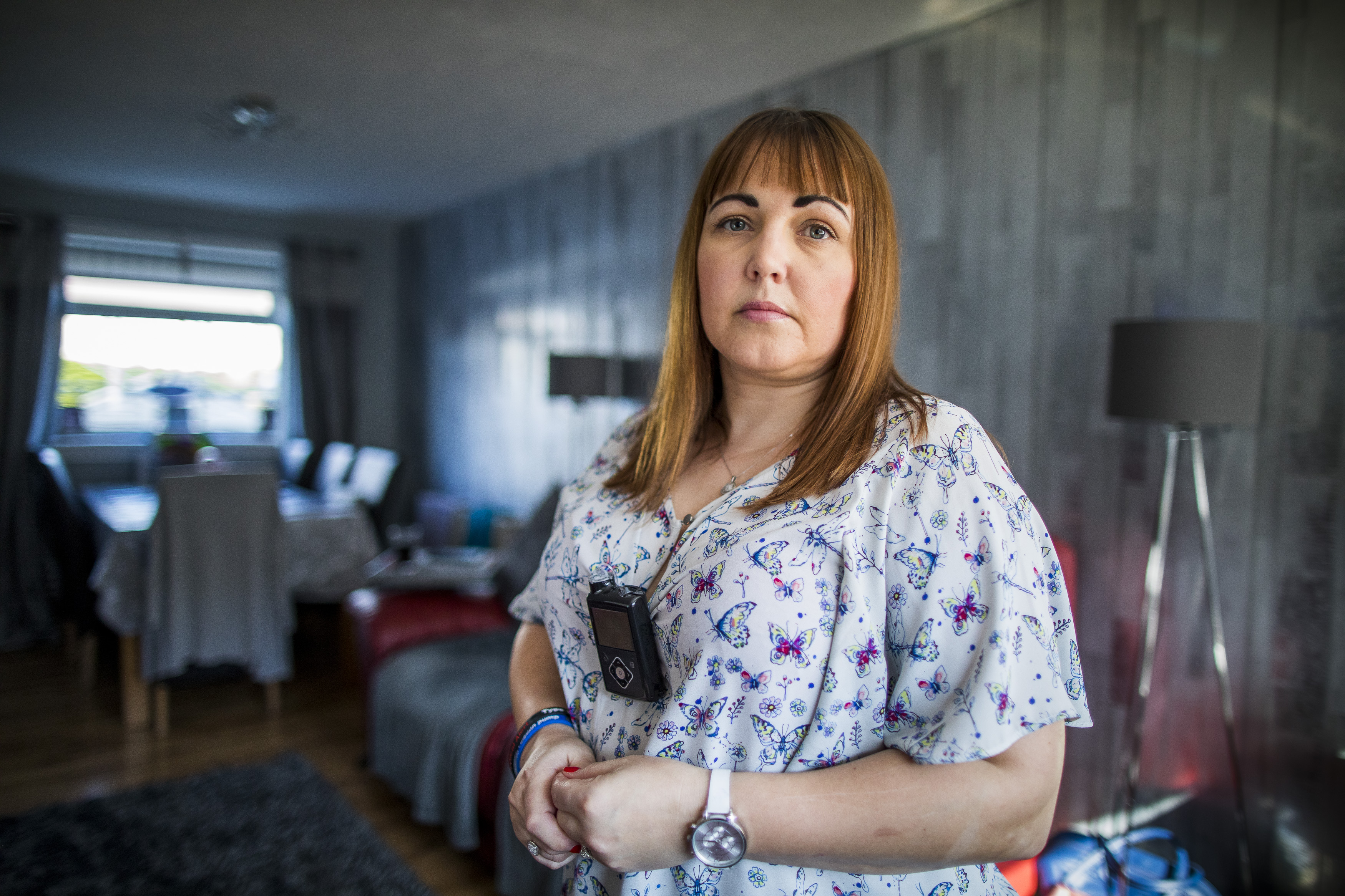 Donna Walker from Bridge of Weir is Diabetic and relies on blood testing strips to get her Insulin dose correct but with Brexit looming there may be a shortage