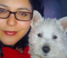 Kara Ewen suffered domestic abuse from Mark McLeod, who has since been sentenced to prison. He also abused her dog (s) and used that as a way of controlling Kara. Kara with her dog, Hobo.
