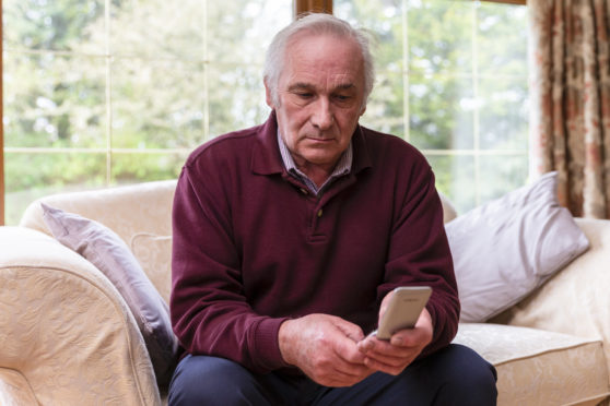 Jack McKenzie was sick of getting cold called on his mobile by a funeral firm in Ayr trying to sell him a funeral insurance plan. He now has a call minder set up on his phone.