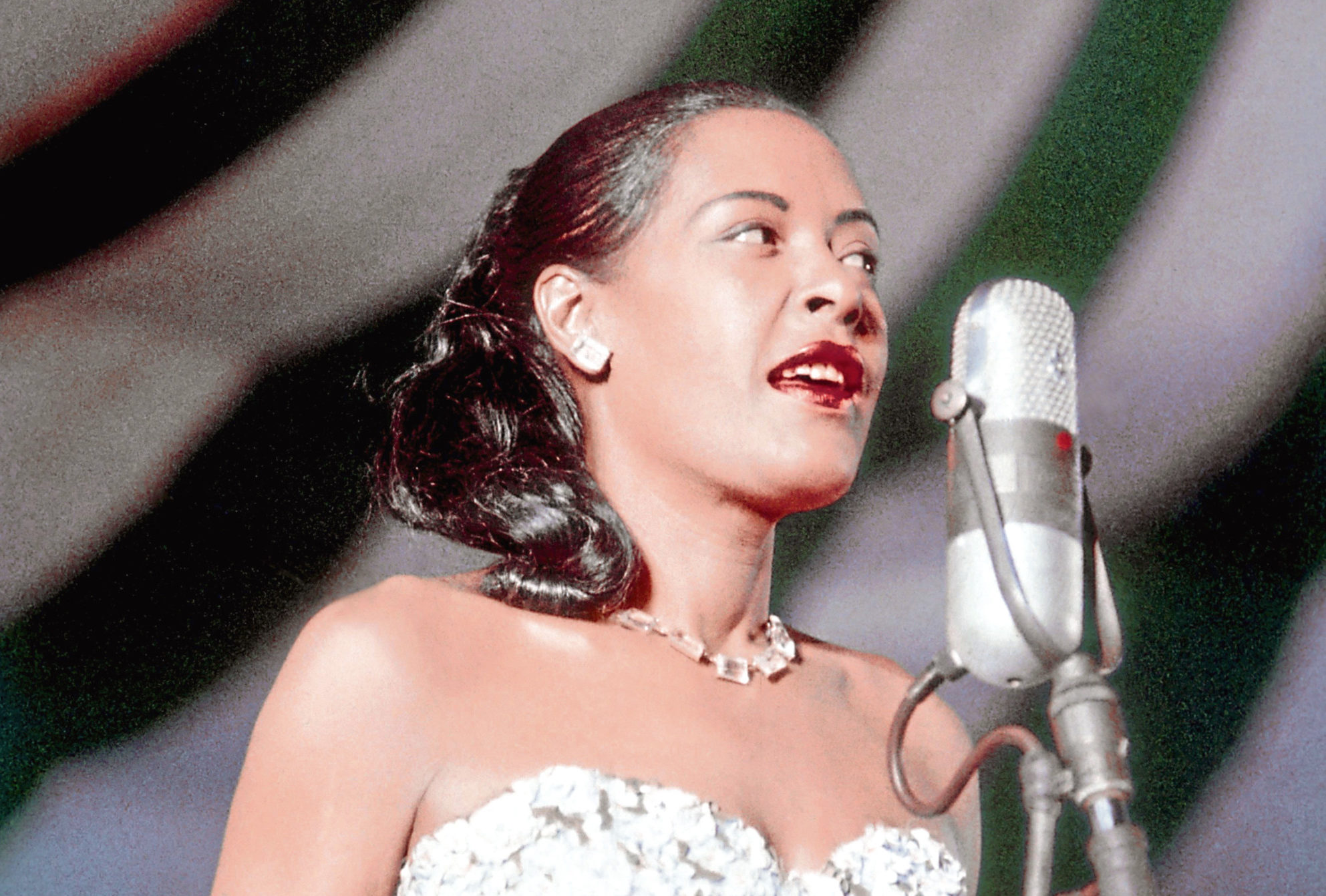 Billie Holiday in 1957