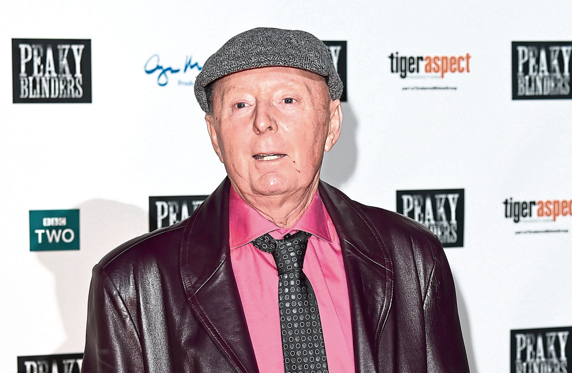 Jasper Carrot attends a Peaky Blinders premiere