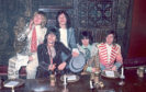 The Rolling Stones at the launch of Beggars Banquet in 1968
