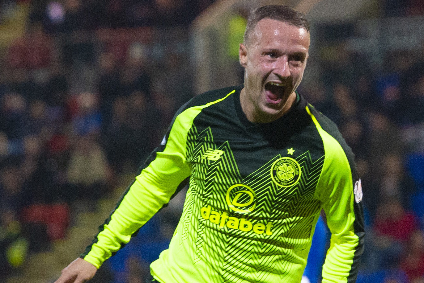 Celtic's Leigh Griffiths