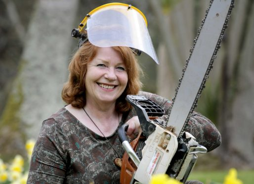 Woodcrafter Jane Fraser