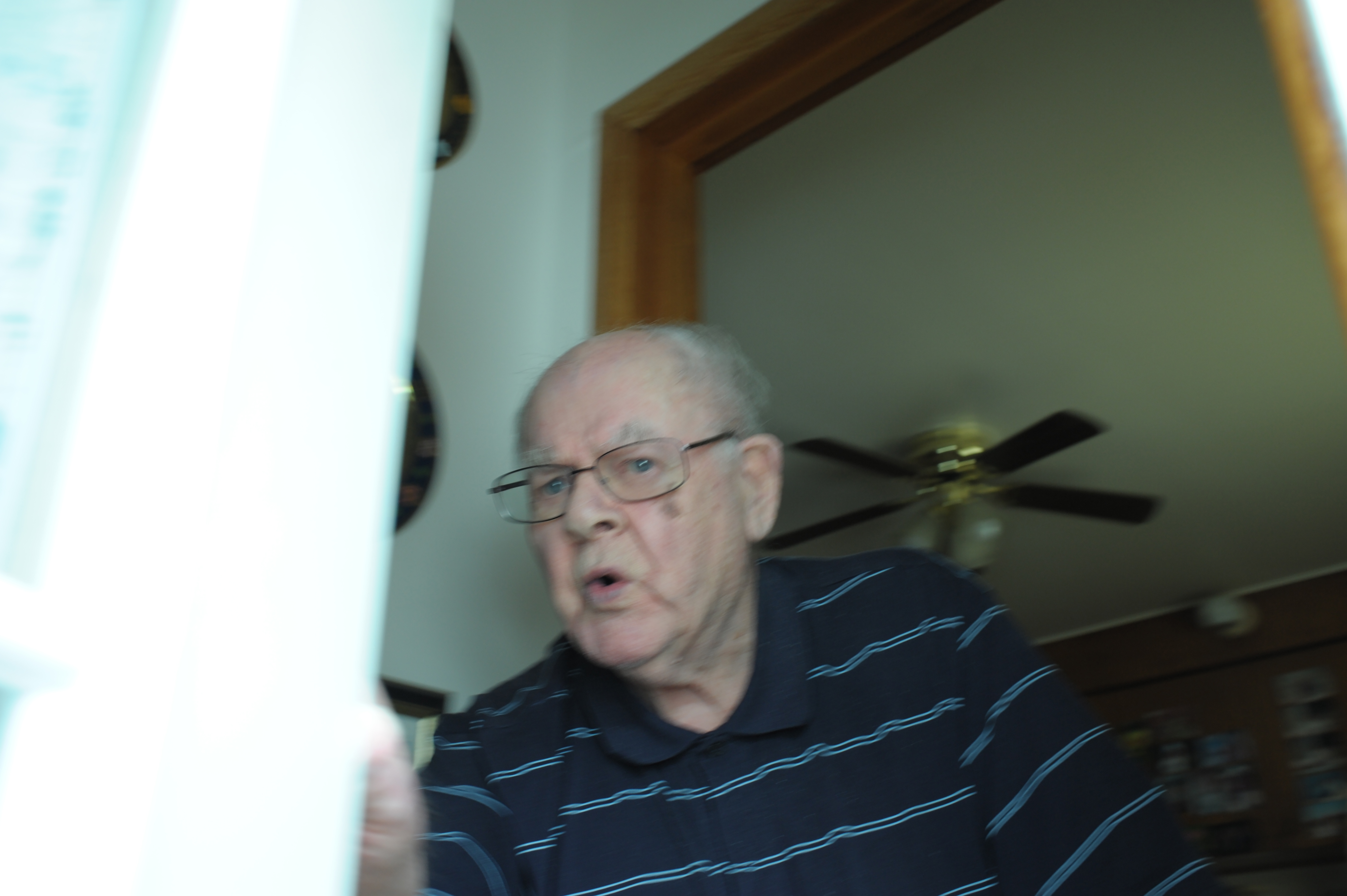 Rev. Robert MacKenzie has retired from St. Patrick's Roman Catholic church in Cupar, Saskatchewan but still lives in the church's rectory.