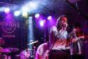 Sara 'N' Junbug performing at the Hard Rock Cafe Battle of the Bands