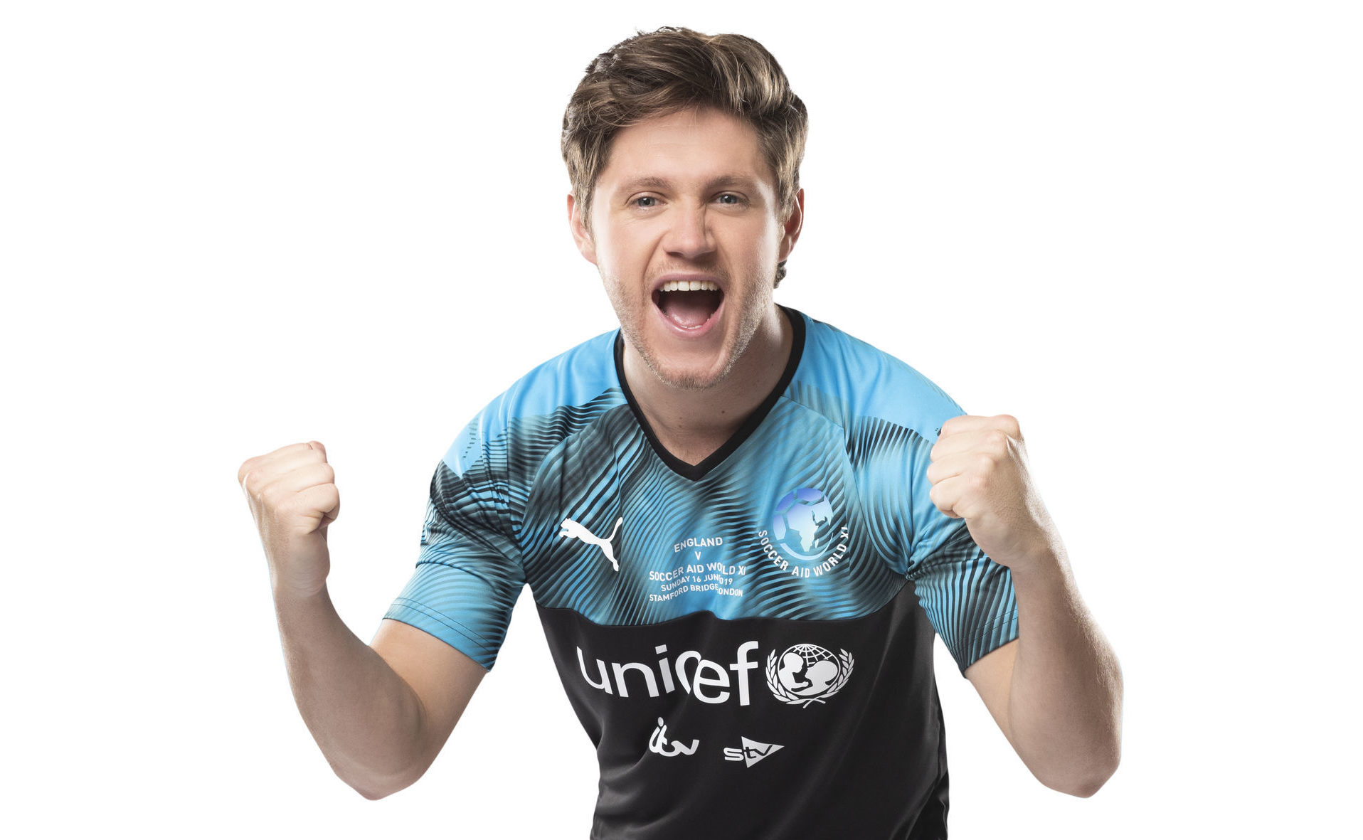 Singer Niall Horan has signed for Soccer Aid 2019