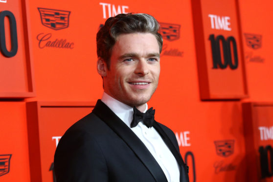 Richard Madden attends the 2019 Time 100 Gala in New York