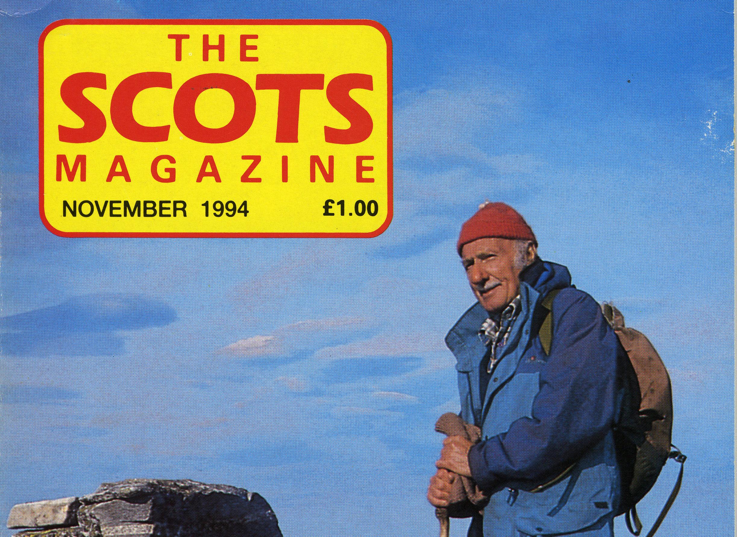 The Scots Magazine, November 1994, Tom Weir
