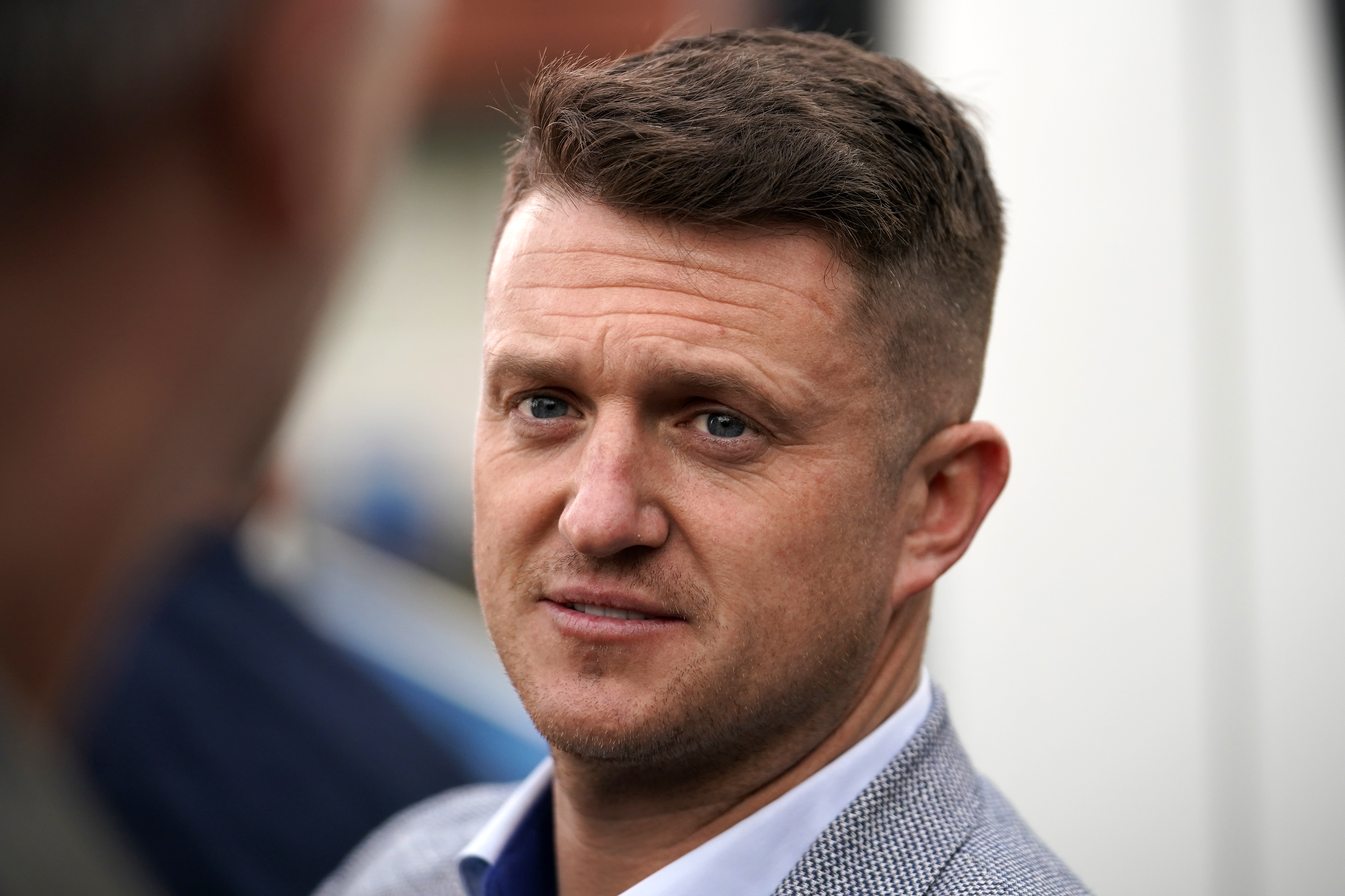 Tommy Robinson (real name Stephen Yaxley-Lennon)