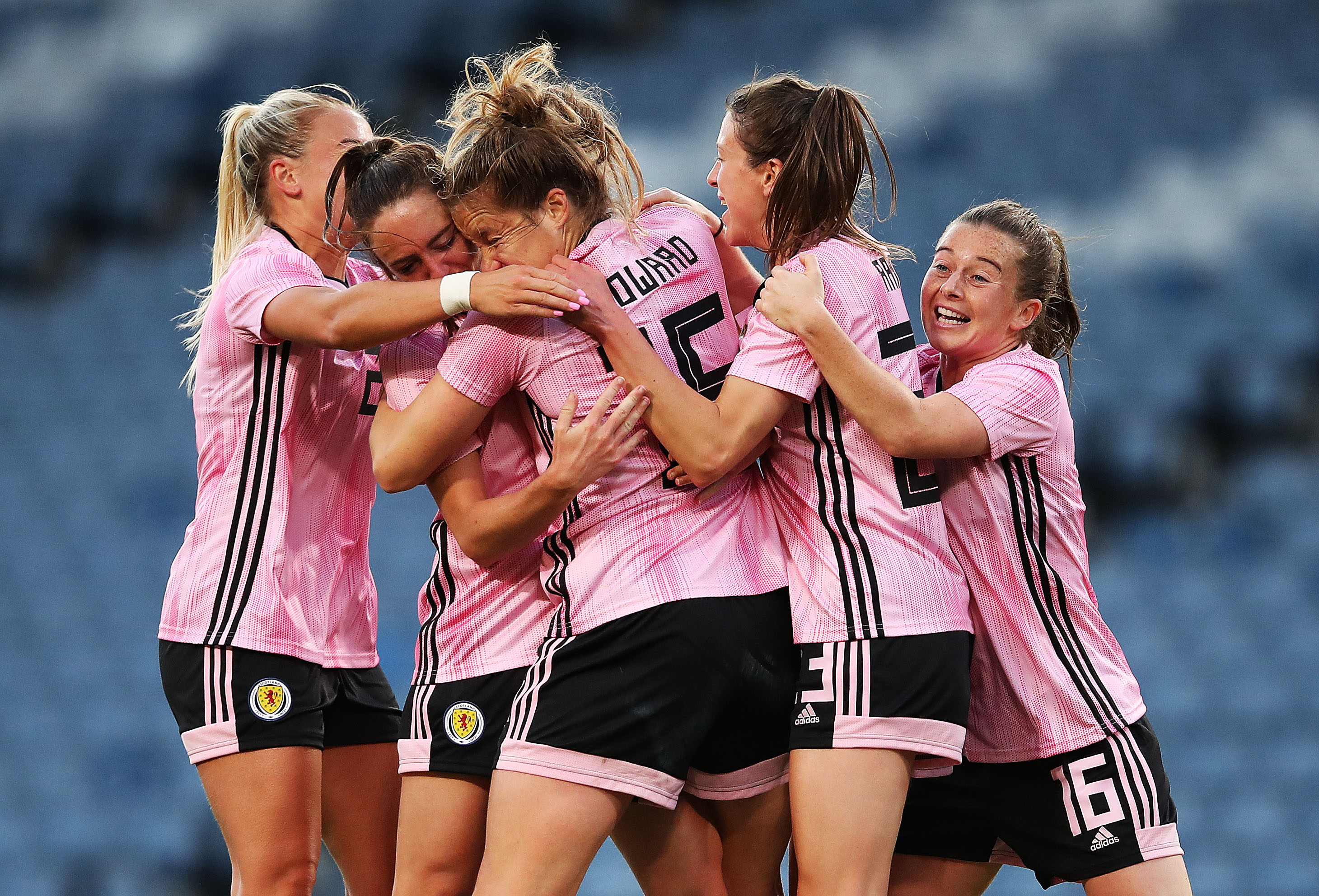 Scotland's women are heading to the World Cup this month