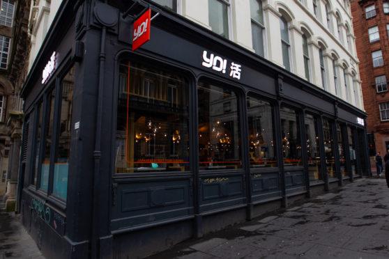 Yo! Sushi in Glasgow