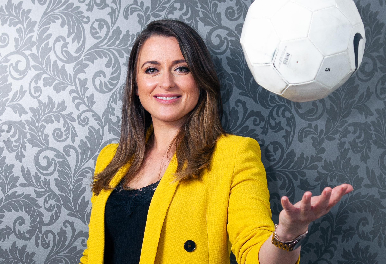 Anne Lundon, presenter of BBC Alba's Women's World Cup coverage