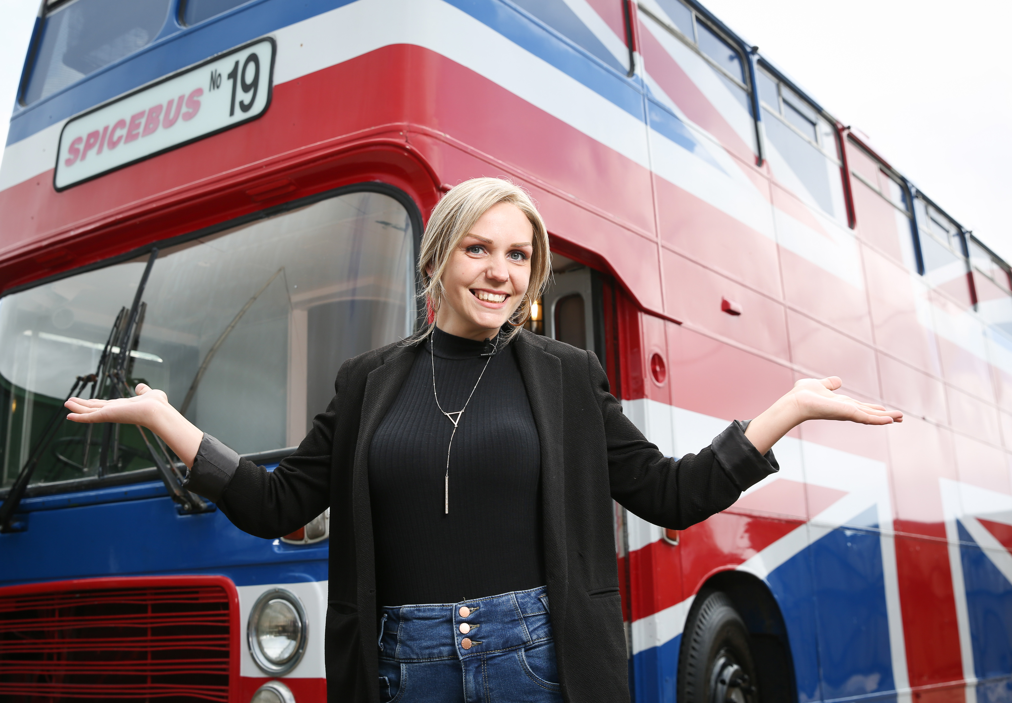 Mega-fan Suzanne Godley is listing the original Union Jack-painted Spice Bus from the 1997 movie Spice World on Airbnb
