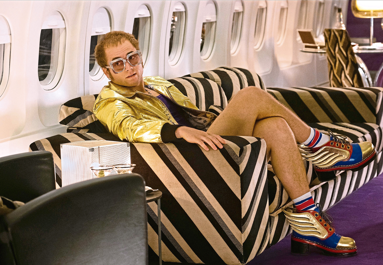 Taron Egerton as Elton John.