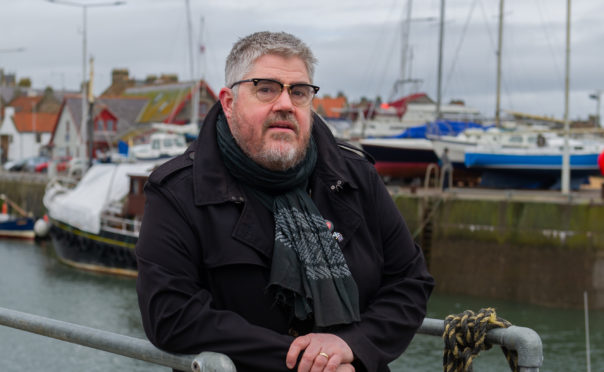 Phill Jupitus turns to his home of Pittenweem for his comedy inspiration