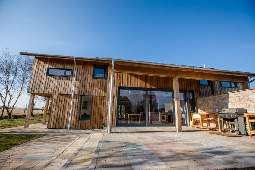 Margaret and Rodger's self-build in Morayshire