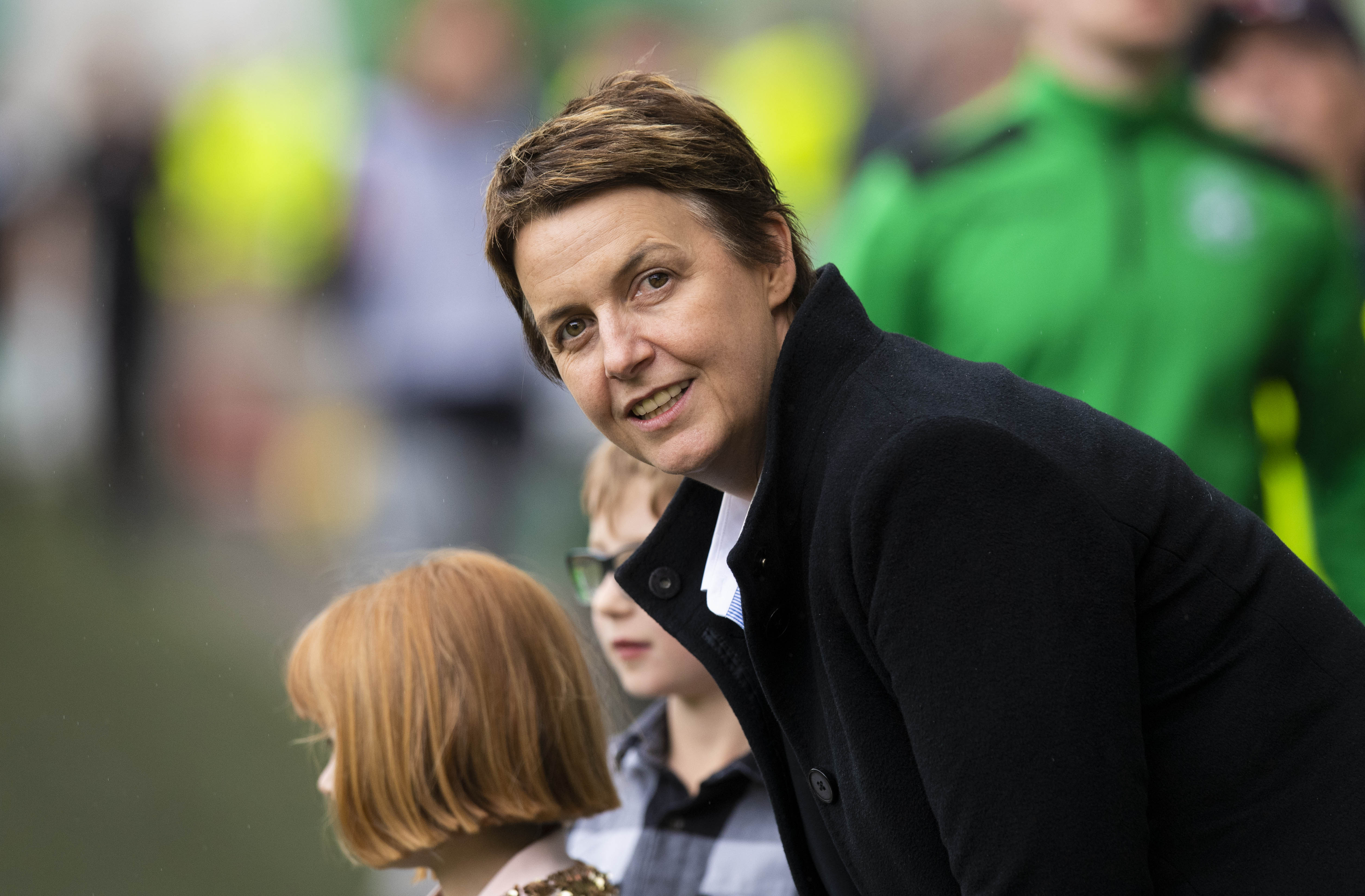 Hibernian chief executive Leeann Dempster
