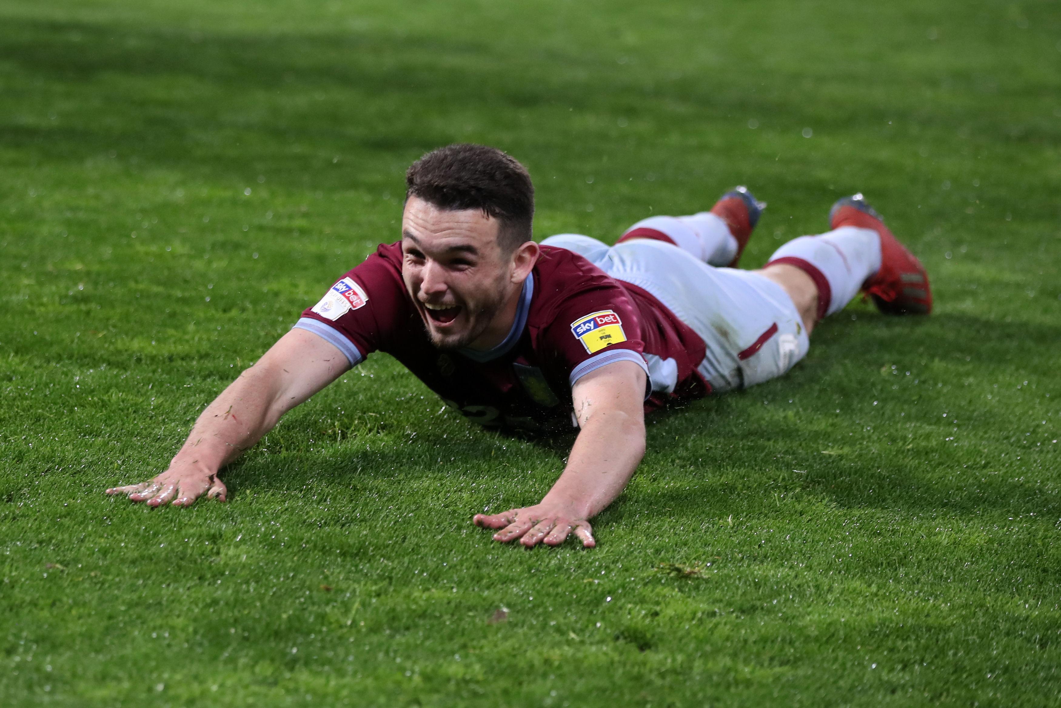 Aston Villa's John McGinn
