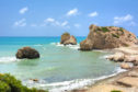 Aphrodite's Rock on the shores of Paphos