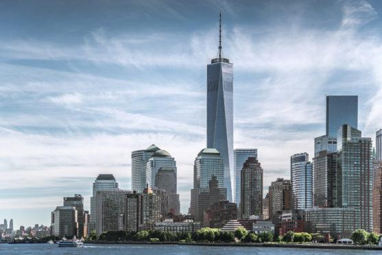 Skyline of lower Manhattan