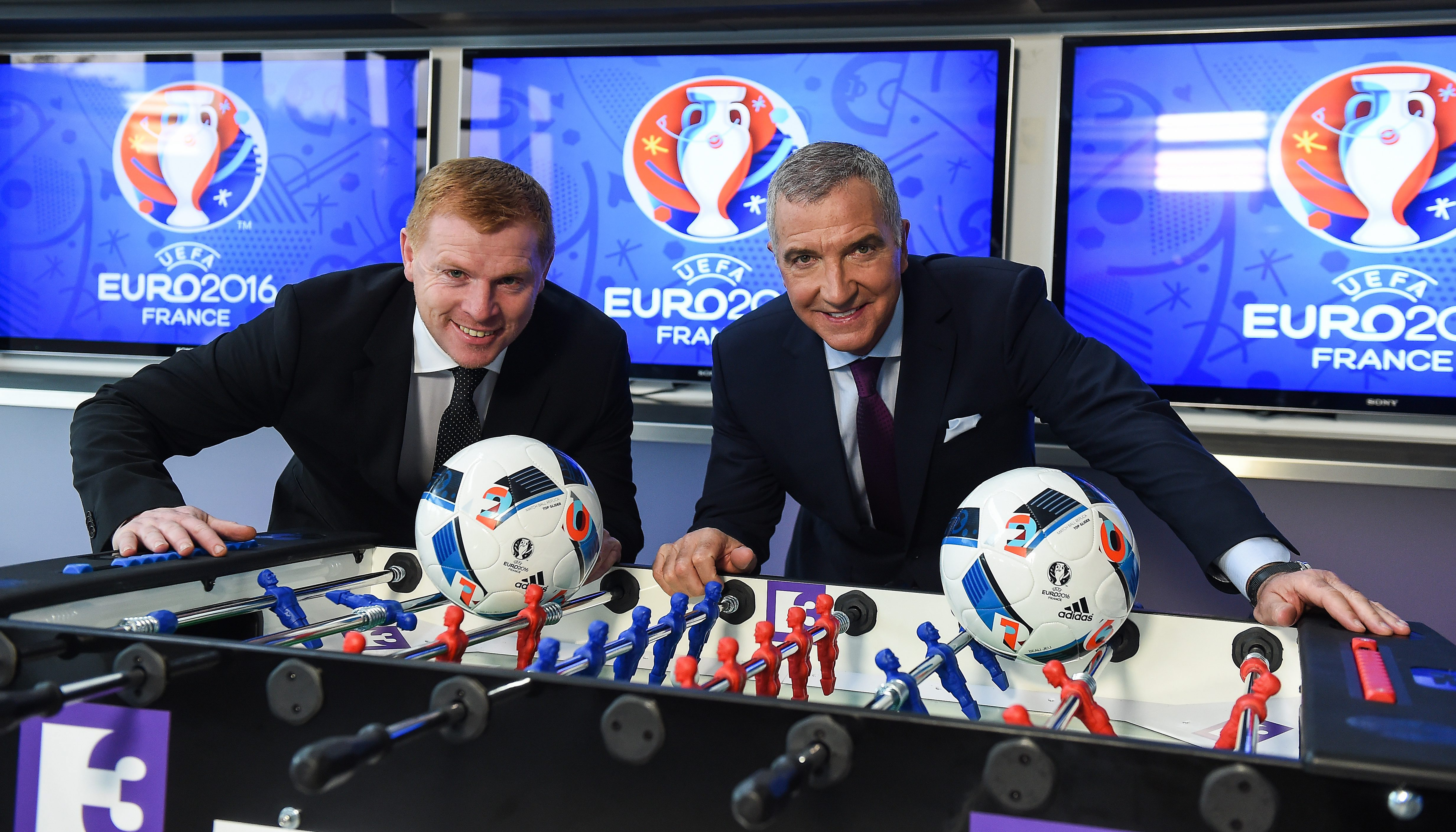 Neil Lennon and Graeme Souness have become good pals since working together as pundits on Irish television