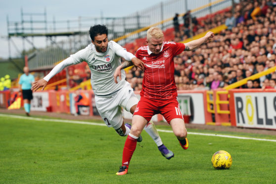 Aberdeen could be reunited with Fola Esch, who they faced in 2016