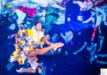 Royal Ballet soloist Fernando Montaño in a new work called Dance for the Sea, which highlights the disastrous pollution of the world's oceans and waterways by plastic