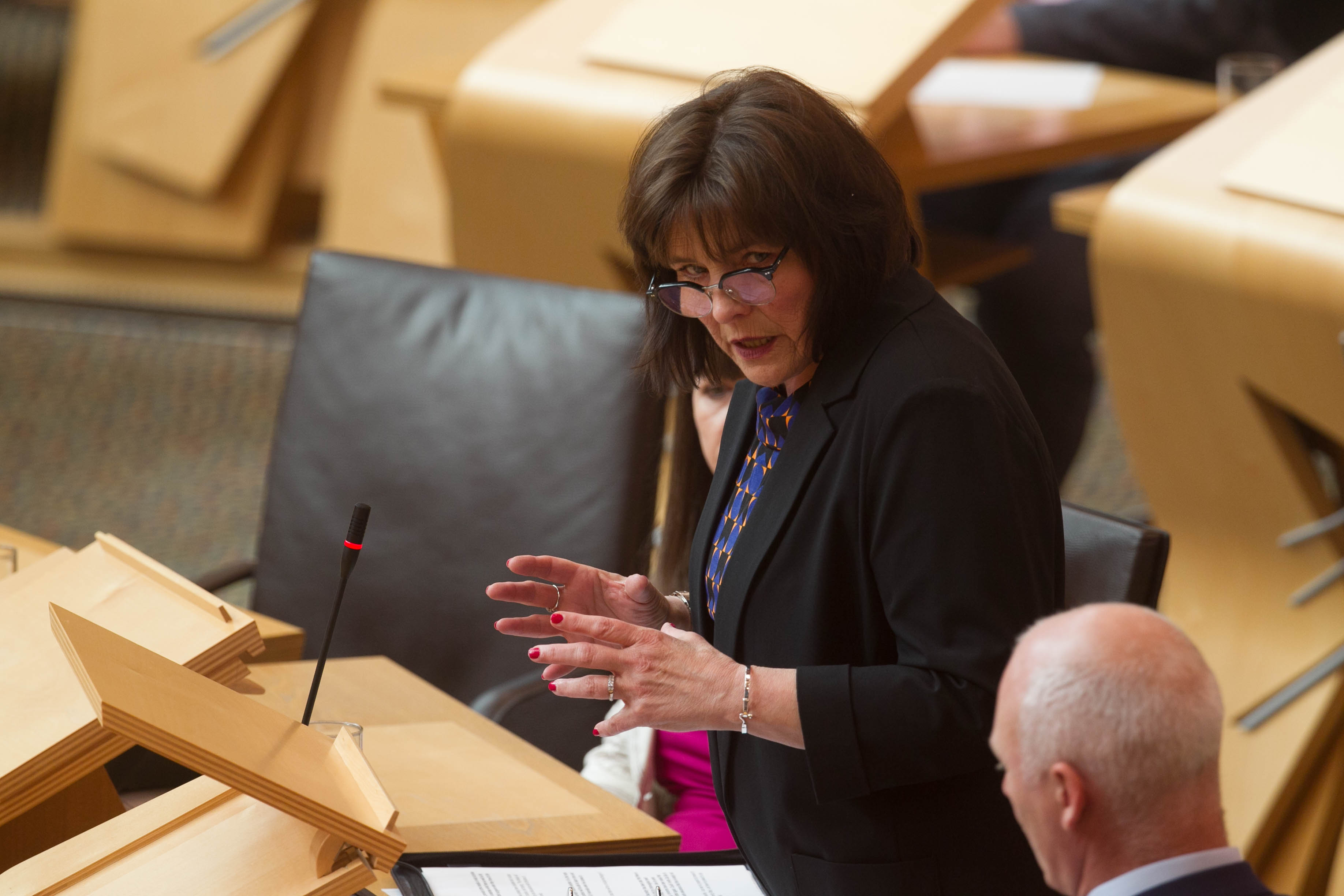 Cabinet Secretary for Health Jeane Freeman